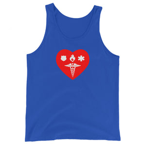 Unisex Tank Top - Healthcare 1st Responder Love