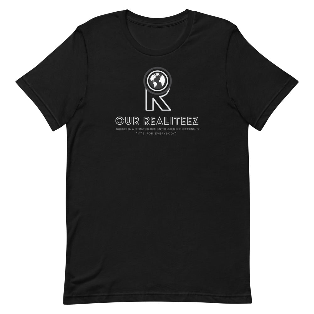 Unisex Short-Sleeve T-Shirt - Illuminated Logo on Deck
