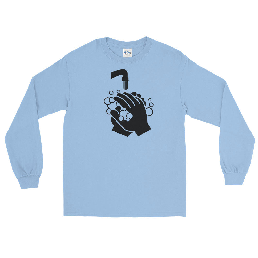Long Sleeve T - Clean Hands Dark