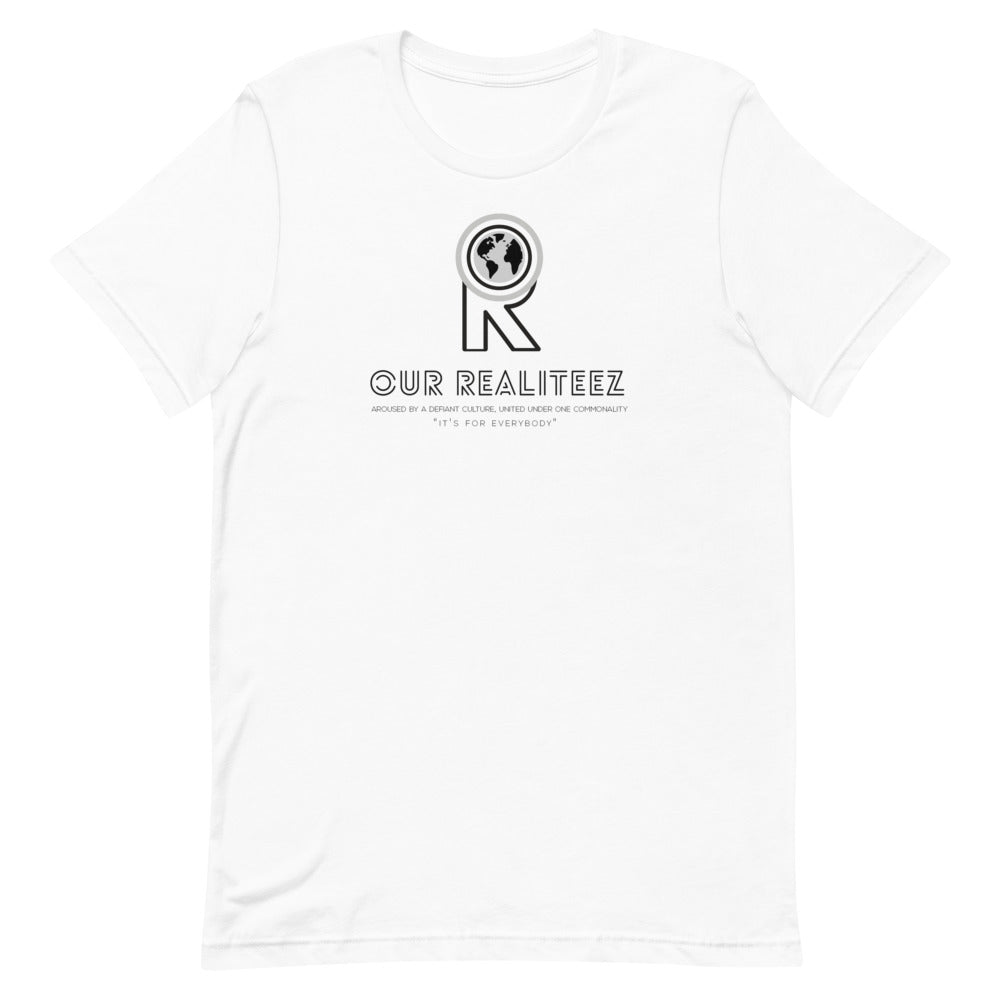 Unisex Short-Sleeve T-Shirt - Dark Logo on Deck