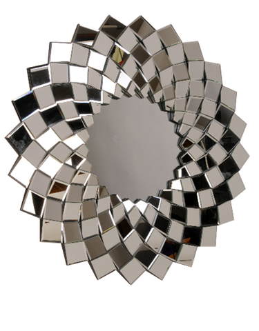 Round Diamond Mirror MIRROR by Final Touches