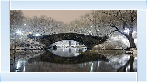 Gapstow Bridge In Winter Picture by Final Touches