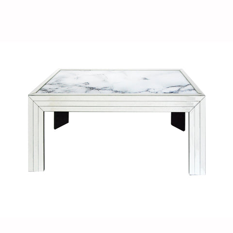 Mirror Marble Coffee Table
