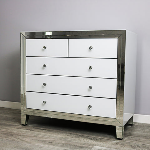 Bianco Large Multi Drawer Chest