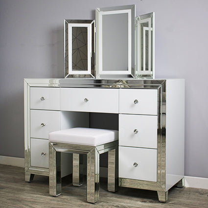 Bianco dressing table set