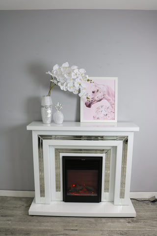 Bianco Grand Fireplace