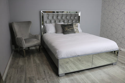 Saltire King Size Bed