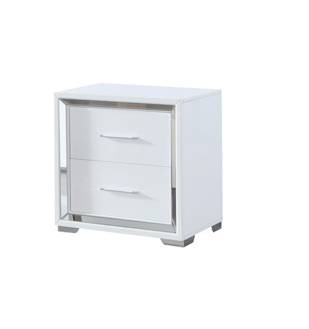 Jura 2 Drawer bedside table