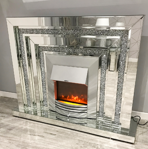 Mocka Levels Fireplace