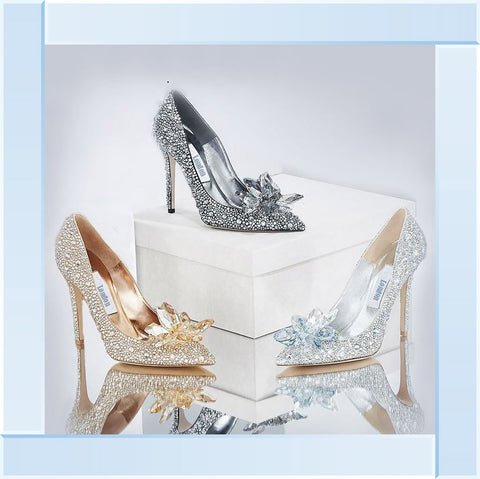 Inspired Jewelled Shoes Glamour Picture by Final Touches