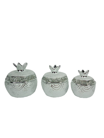 Small Pot Set Chrome