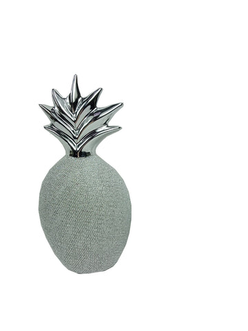 Ceramic Chrome Pineapple