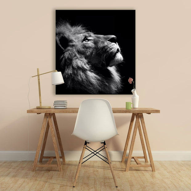 "Skulpta Canvas Print 30x30cm / 12x12"" / Rolled Canvas ・""The King""・"