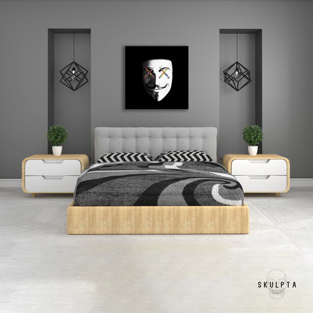 "Skulpta Canvas Print 30x30cm / 12x12"" / Rolled Canvas ・""Vendetta""・"