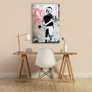 "Skulpta Canvas Print 30x40cm / 12x16"" / Rolled Canvas Banksy・""Art""・"