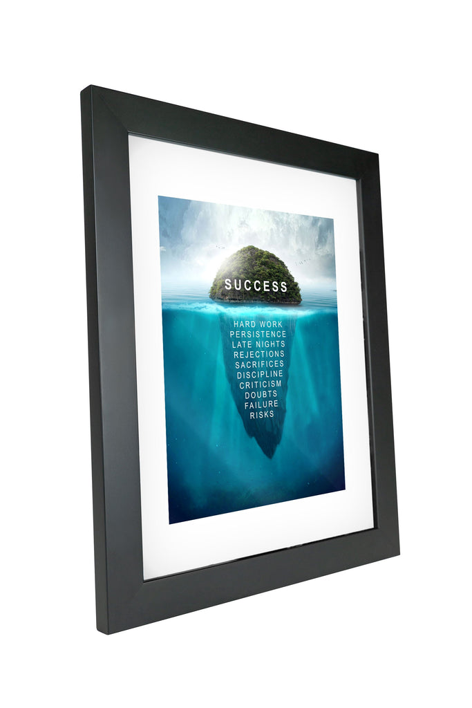 "Skulpta Canvas Print 30x45cm / 12x18"" / Fine Art Frame ・""SUCCESS Island""・"