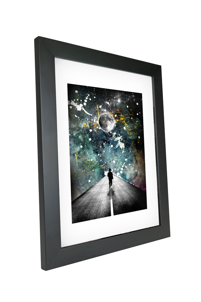 "Skulpta Canvas Print 30x45cm / 12x18"" / Fine Art Frame ・""The Road... ""・"