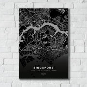 "Skulpta Canvas Print 30x45cm / 12x18"" / Rolled Canvas ・""SINGAPORE""・"