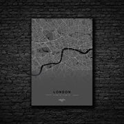 "Skulpta Canvas Print 30x45cm / 12x18"" / Rolled Canvas ・""LONDON""・"