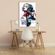 "Skulpta Canvas Print 30x45cm / 12x18"" / Rolled Canvas ・""Harley Queen""・"