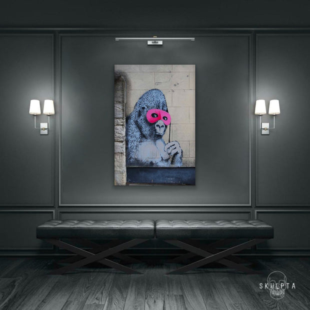 "Skulpta Canvas Print 30x45cm / 12x18"" / Rolled Canvas ・""Hidden Monkey""・"