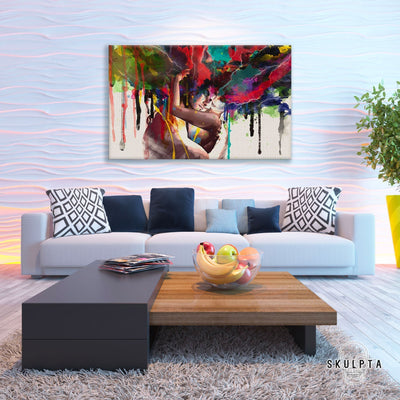 "Skulpta Canvas Print 30x45cm / 12x18"" / Rolled Canvas ﹒Love & Colours ﹒"