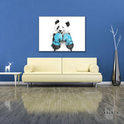 "Skulpta Canvas Print 30x45cm / 12x18"" / Rolled Canvas ・""Panda""・"