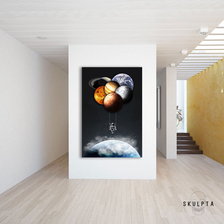 "Skulpta Canvas Print 30x45cm / 12x18"" / Rolled Canvas ・""Solar Swinger""・"