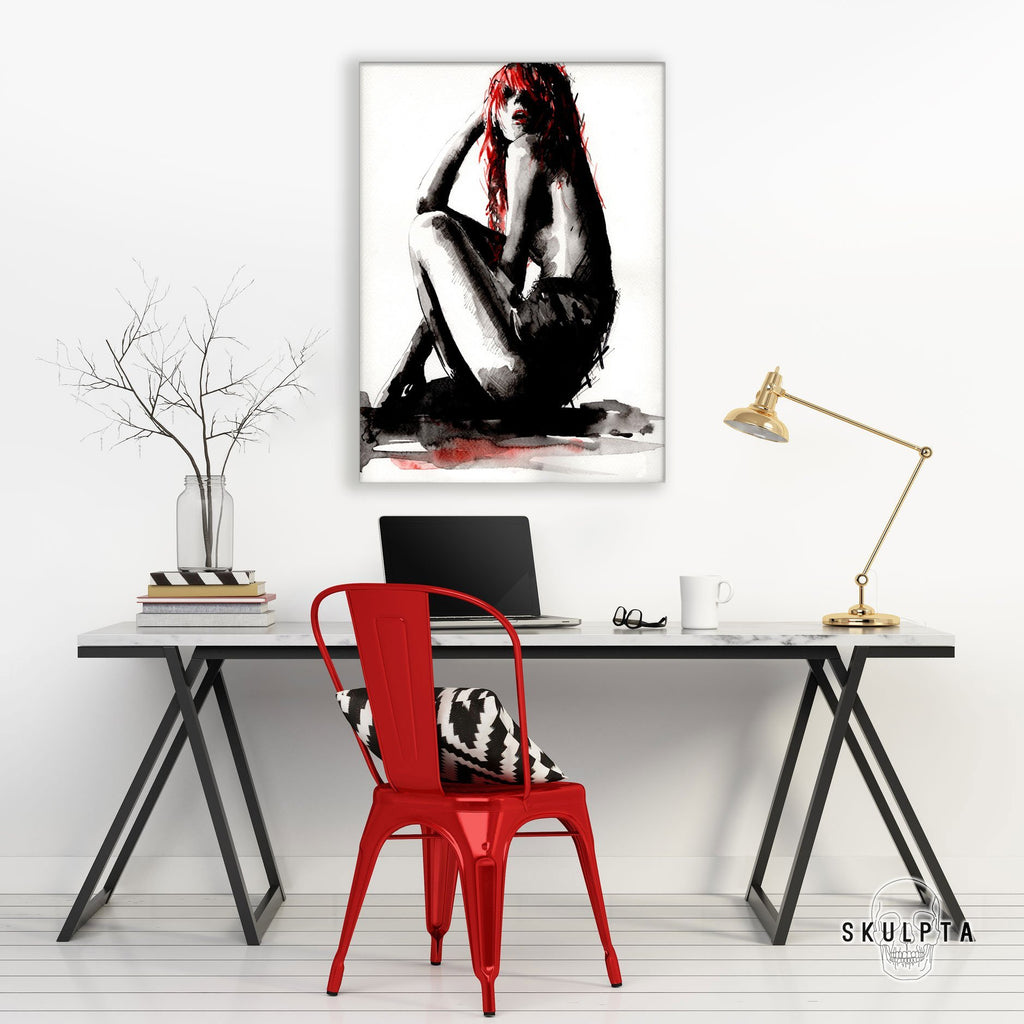 "Skulpta Canvas Print 30x45cm / 12x18"" / Rolled Canvas ・""Solitude""・"