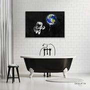 "Skulpta Canvas Print 30x45cm / 12x18"" / Rolled Canvas ・""Space Rider""・"