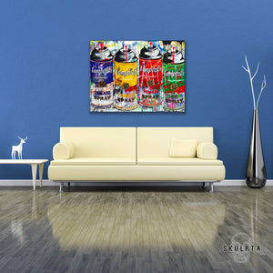 "Skulpta Canvas Print 30x45cm / 12x18"" / Rolled Canvas ・""Tomato Spray""・"