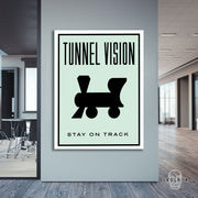 "Skulpta Canvas Print 30x45cm / 12x18"" / Rolled Canvas ・""Tunnel Vision""・"
