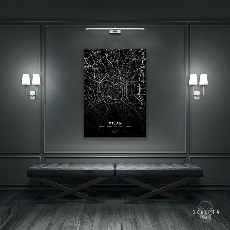 "Skulpta Canvas Print 30x45cm / 12x18"" / Rolled Canvas ・""MILAN""・"