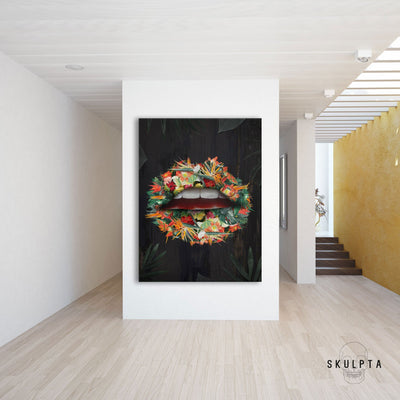 "Skulpta Canvas Print 30x45cm / 12x18"" / Rolled Canvas ・""Wild""・"