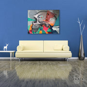 "Skulpta Canvas Print 30x45cm / 12x18"" / Rolled Canvas ・""...Yeah""・"