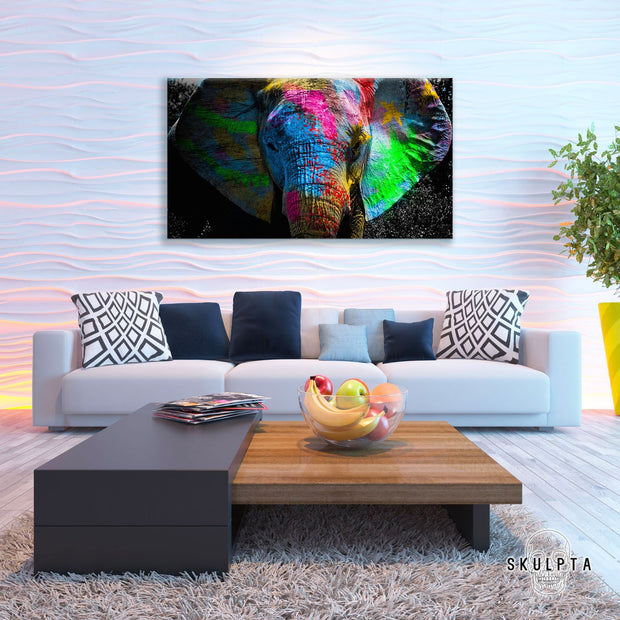 "Skulpta Canvas Print 30x60cm / 12x24"" / Rolled Canvas ﹒Elephant Mantra ﹒"
