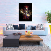 "Skulpta Canvas Print 40x60cm / 16x24"" / Rolled Canvas ・""Jimmi Hendrix""・"