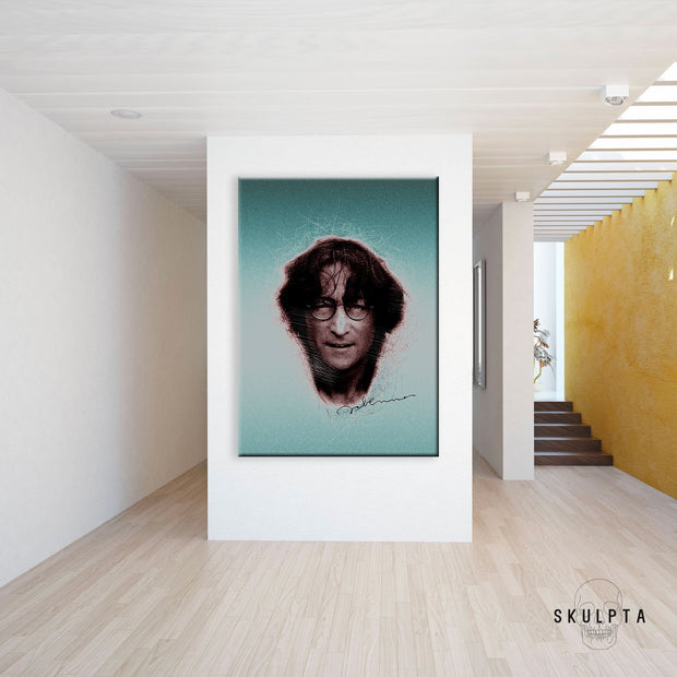 "Skulpta Canvas Print 40x60cm / 16x24"" / Rolled Canvas ・""John Lennon""・"
