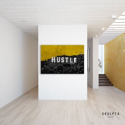 "Skulpta Canvas Print 45x60cm / 18x24"" / Rolled Canvas ・""Hustle""・"