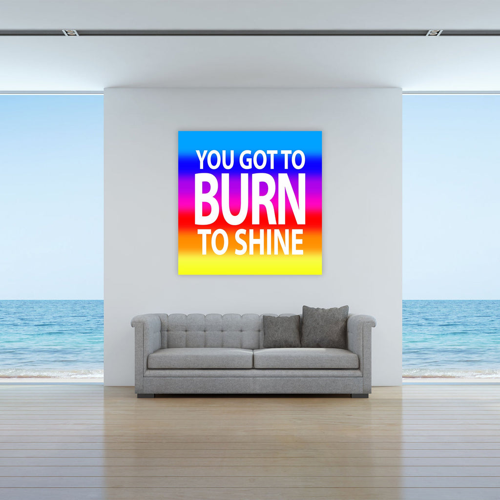 "Skulpta Canvas Print ・""Burn to Shine""・"
