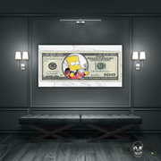 "Skulpta Canvas Print ・""Dollar Bart""・"