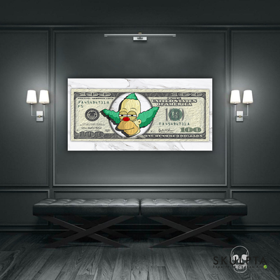 "Skulpta Canvas Print ・""Dollar Krusty""・"