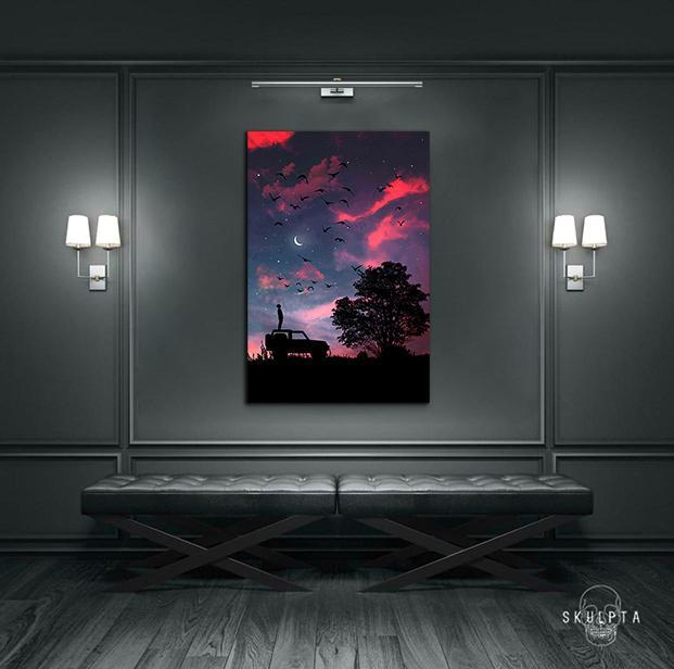 "Skulpta Canvas Print ・""Dreamy Sky""・"