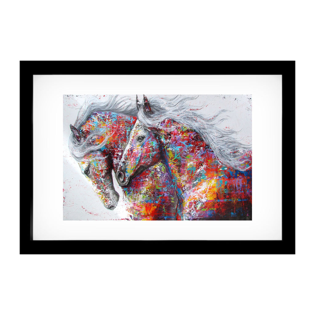 "Skulpta Canvas Print ・""Horse Power""・"