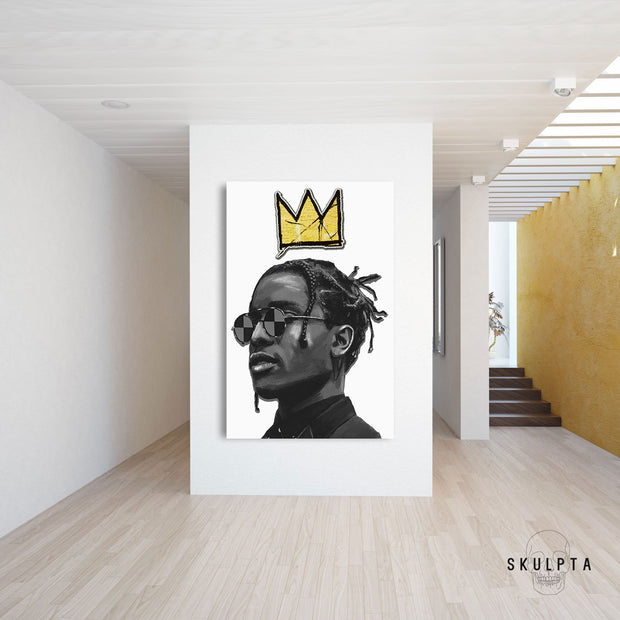 "Skulpta Canvas Print ・""King A$AP""・"