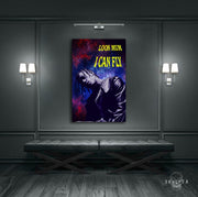 "Skulpta Canvas Print ・""Look Mum I Can Fly""・"
