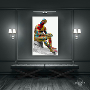 "Skulpta Canvas Print ・""Reflectant Spider-Man""・"