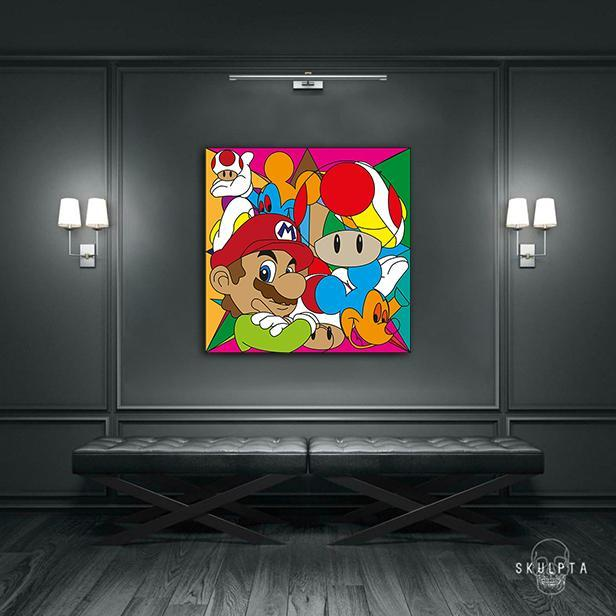 "Skulpta Canvas Print ・""SuperMario""・"