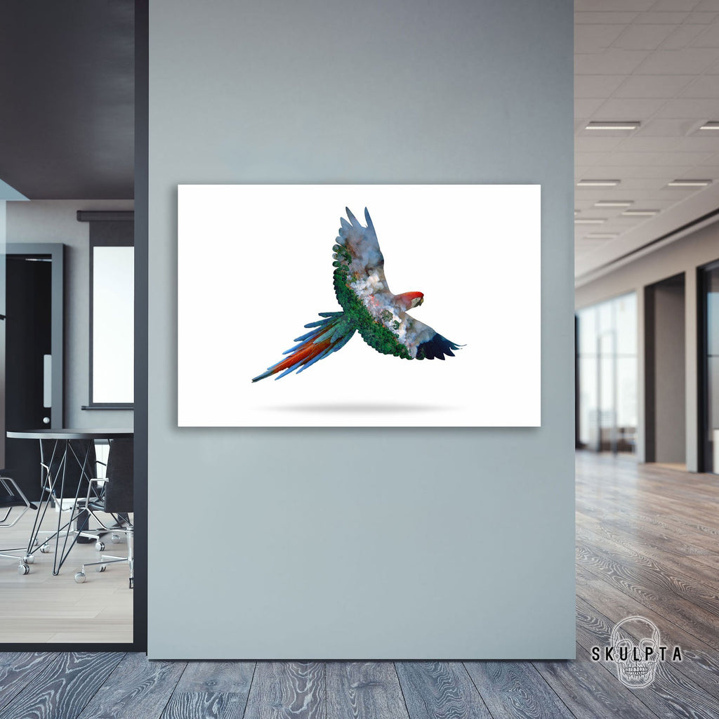 "Skulpta Canvas Print ・""The Flying Misery""・"