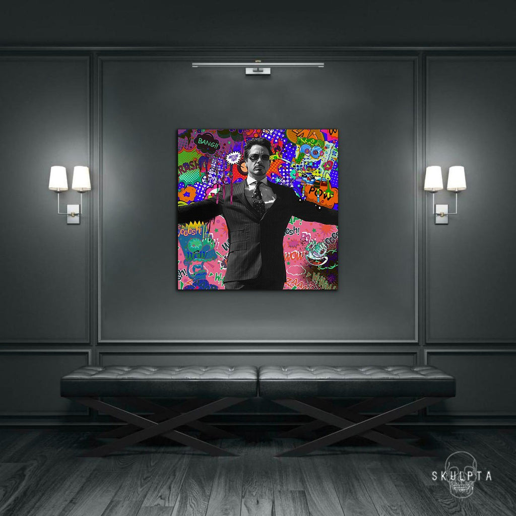 "Skulpta Canvas Print ・""Tony Stark""・"